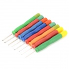 Stainless Steel Hollow Needle Electronic Components Repair - Multicolored (8 PCS)