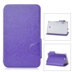 "Protective PU Leather Case for Samsung Galaxy Tab 3 7"" P3200 / T210 - Purple"
