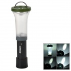 SUNREE C5 Convenient Outdoor Tent Lamp Flashlight w/ Cree LED, Hook - Green + Black (3 x AAA)