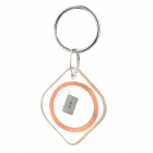 Diamond Shape Rewritable Waterproof 13.56Mhz NFC Smart Tag - Transparent + Silver