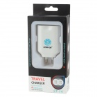 STAR GO ST-14 4100mA 4 USB Output Travel Charger for Ipad + Iphone + Samsung - White (AU Plug)