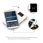 MOCREO Qi-Enabled Wireless Charger Charging Pad w/ 8000mAh Power Bank Battery Packs for Qi Devices