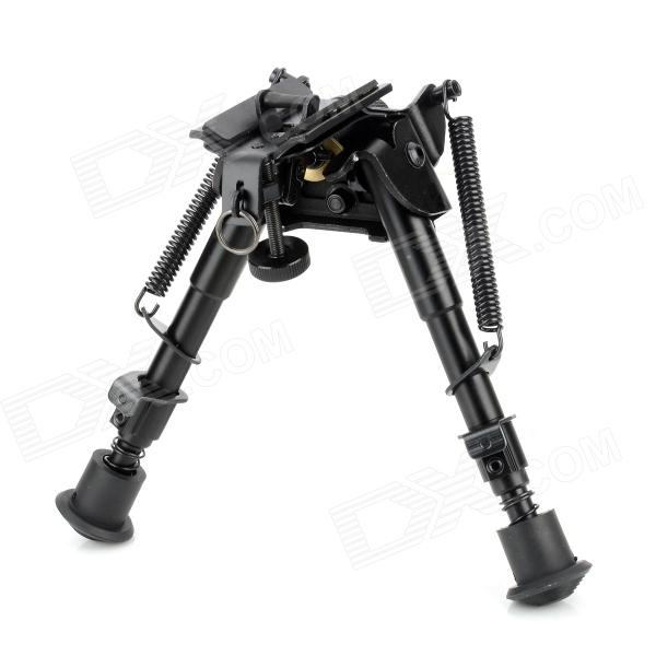 6'' Clamp-on Bipod for 11mm Rail Gun - Black