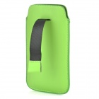 Protetora PU Leather Case Bag Bolsa para Samsung i9295 - Verde