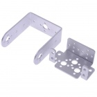 2DOF Aluminum Short U bracket & Multifunction Bracket for Robot Servo Joint DIY