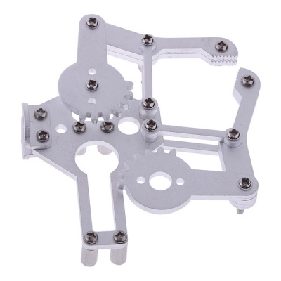 Servo Bracket Robotic Claw for Medium Servo Robot Arm / Arduino - Silver