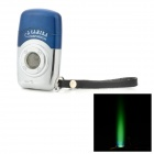 Mini Camera Style Butane Lighter w/ RGB LED Light - Blue + Silver