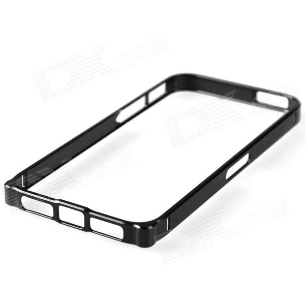 Zomgo Protective Aluminum Alloy Bumper Frame for Iphone 5 - Black zomgo stylish protective aluminum alloy silicone bumper frame for iphone 5 5s red white