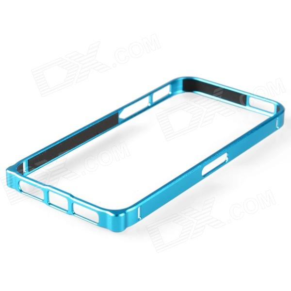 Zomgo Protective Aluminum Alloy Bumper Frame for Iphone 5 - Blue zomgo stylish protective aluminum alloy silicone bumper frame for iphone 5 5s red white