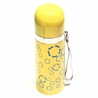 Stainless Steel Vacuum Cup - Yellow + White (350mL)