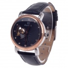 Daybird Vogue Heart-Shaped Hollow out Style Automatic Mechanical Women's Wrist Watch - Rose Gold