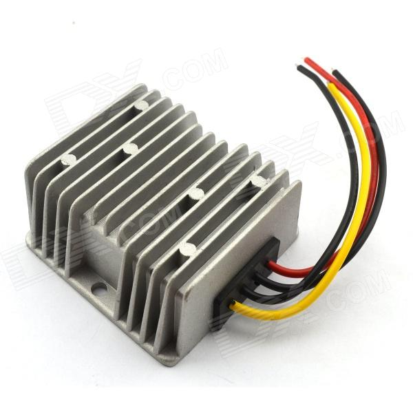 Waterproof DC-DC 12V / 24V to 5V 10A 50W Buck Converter Car Display Power Supply Module - Silver беговая дорожка oxygen fitness tesla tft hrc