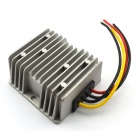 Waterproof DC-DC 12V / 24V to 5V 10A 50W Buck Converter Car Display Power Supply Module - Silver