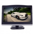 "XY-2050 4.3"" TFT LCD 1.3W Car Security Reversing Rearview System Monitor - Black + Silver"