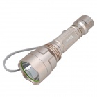SingFire SF-324 200lm 5-Mode Warm White Flashlight w/ Cree XR-E Q5 - Champagne (1 x 18650)