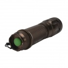 SingFire SF-320 800lm hvite 5-modus Zooming lommelykt med Cree XM-L T6 - brun (1 x 26650 / 18650)