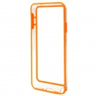 Protective Silicone Bumper Frame for Samsung Galaxy Note 3 - Orange + Transparent