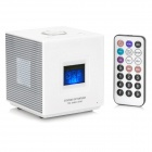 "5-in-1 Cubic 1.4"" LCD MP3 Player and Radio/Alarm Clock/USB/SD/MMC with Remote Control (2GB)"