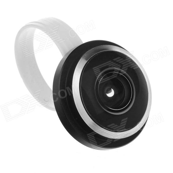 Lesung LX-C003 Universal 235 Degree Clip Supper Fish-Eye Lens for Iphone / Samsung / HTC - Black