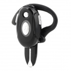 LY-H700-HEISE Bluetooth V2.1 Earbud Headset w/ Microphone for Iphone 4 / 4S - Black + Silver