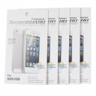 Protective PET Clear Screen Guard Film for Nokia Lumia 1020 - Transparent (5 PCS)