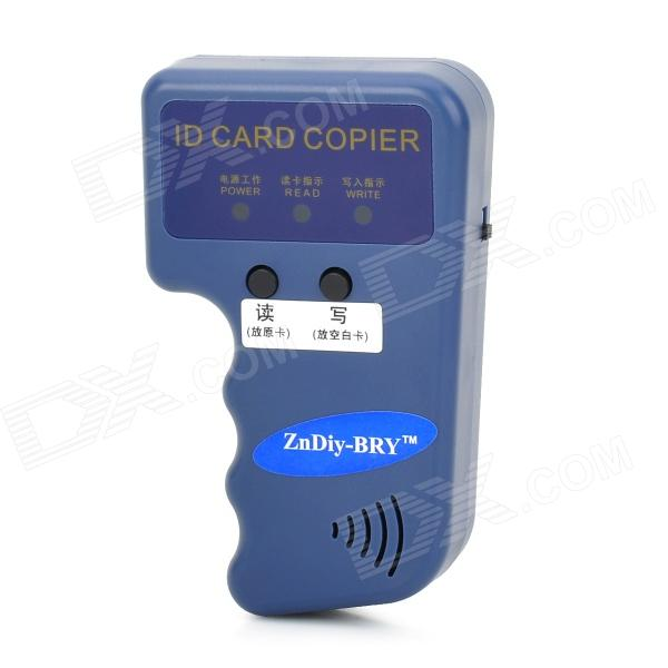 ZnDiy-BRY ID-1 Portable HID / EM ID Card Copier - Blue (2 x AAA) portable handheld induction id card machine blue 2 x aaa