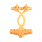 Lovely Black Dot Bikini Style Protective Cover Protector for iPhone 4 / 4S / 5 - Orange
