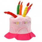 JUQI Birthday Party Dress-up Hat - Pink + Deep Pink