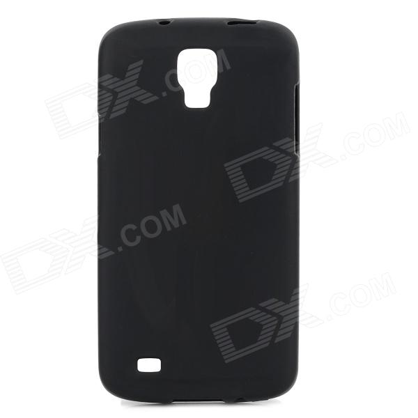 Protective Frosted TPU Back Case for Samsung i9295 - Black