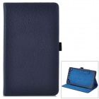 Y7-2-7L Protective 2-Fold PU Leather Case for Google Nexus 7 II - Jewelry Blue