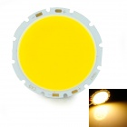 15W 1500lm 3200K Warm White COB LED Board - Silver + Yellow (48~54V)