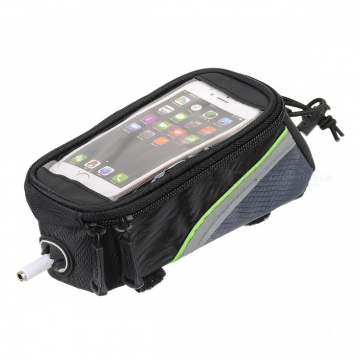 ROSWHEEL X009 Portable Nylon Bike Top Tube Case Bag for 4.2