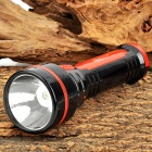 Yage yg-3705 60lm 2-mode 1-led cool white light rechargeable flashlight - black + red (us plug)