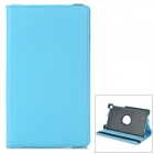 Protective PU Leather Case for Google Nexus 7 - Light Blue