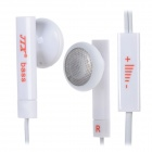 JTX JL-630 Earphone w/ Microphone / Volume Control for Mobile Phone (3.5mm-Plug / 110cm-Cable)