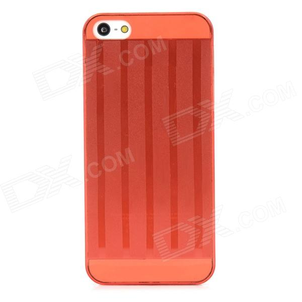 Protectiv Super Slim Plastic Back Case for Iphone 5 - Red 1more super bass headphones black and red