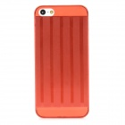 Protectiv Super Slim Plastic Back Case for iPhone 5 - Red