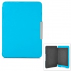 Protective ABS + PU Leather Case for Kindle Paperwhite - Blue