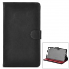 Y7-2-23B Protective 2-Fold PU Leather Case for Google Nexus 7 - Black