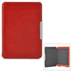 Protective ABS + PU leather Case for Kindle Paperwhite - Brown