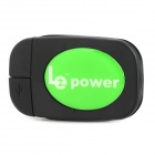 XDA-MR Wireless Charger Receiver / Charger w/ Micro USB - Black + Green