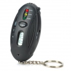 Digital Alcohol Breath Tester with Timer and LED Flashlight Keychain (2*AAA)
