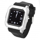 "Iradish HD-i900 GSM Watch Phone w/ 1.54"" Resistive Screen, Quad-Band, Bluetooth and FM - Black"