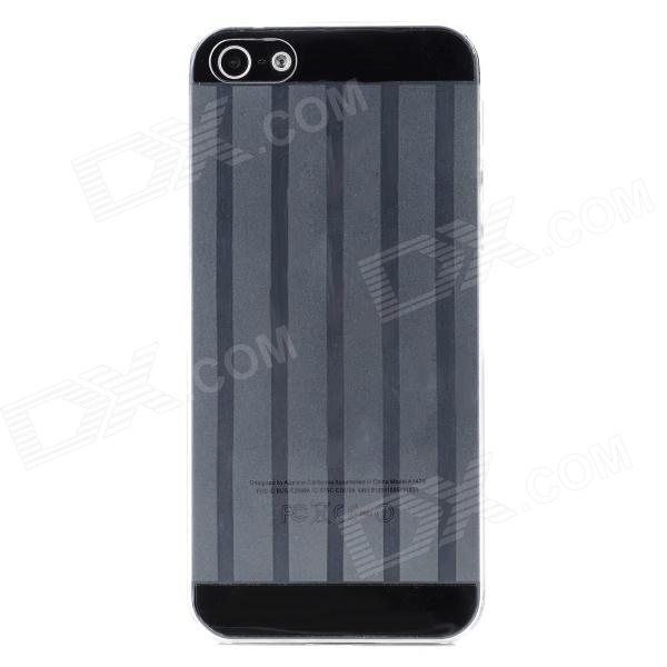 Protective Super Slim Plastic Back Case for Iphone 5 - Transparent
