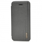 USAMS Protective Starry Sky Series PU leather Flip Open Case for  Iphone 5C - Deep Grey