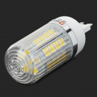Lexing G9 3.5W 300lm 3500K 34-SMD-5050 Warm White Light LED Corn Lamp - White + Silver (220-240V)