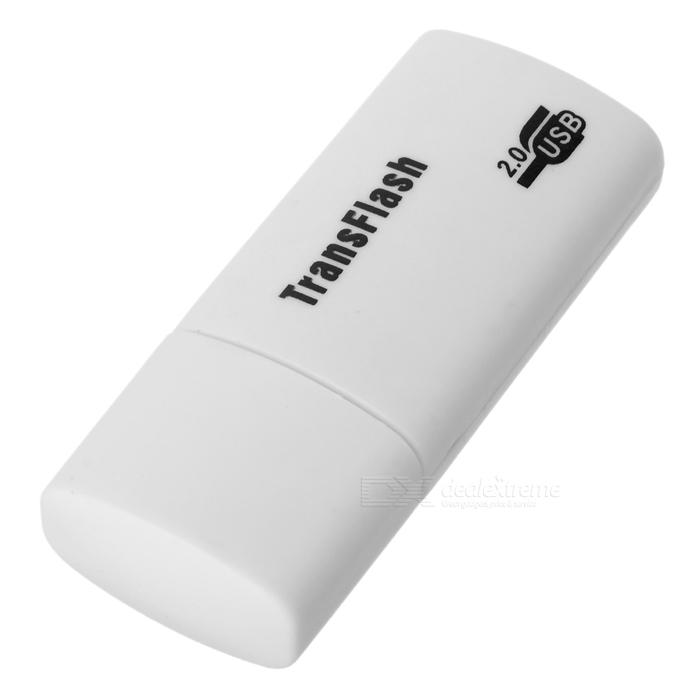 USB 2.0 Transflash MicroSD Card Reader ssk scrm 060 multi in one usb 2 0 card reader for sd ms micro sd tf white