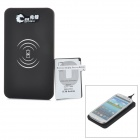 5V 1000mAh USB Wireless Charger w/ Receiver for Samsung Galaxy S3 i9300 - Black