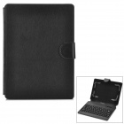 "Bluetooth V3.0 Keyboard Leather Case for 7"" / 8"" Tablet PC - Black"