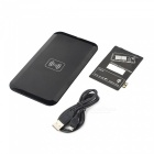 Qi USB Wireless Charger w/Receiver for Samsung Galaxy S3 i9300 - Black